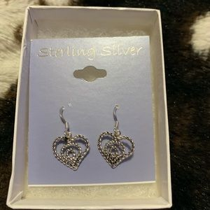 Accessories - Sterling Silver Rope Hearts